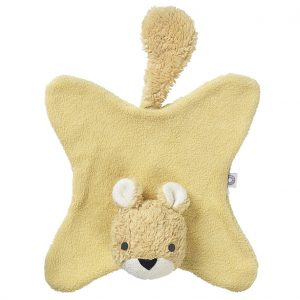 Anika yellow squirrel cuddle cloth