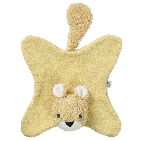 Anika yellow squirrel cuddle cloth