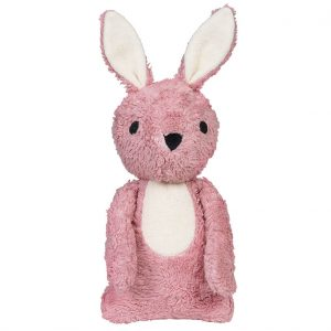 Carla pink rabbit cuddle toy