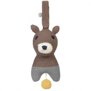 Hella brown squirrel musical toy for babies