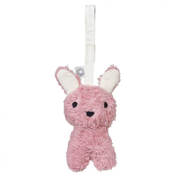 Louise pink hanging rattle