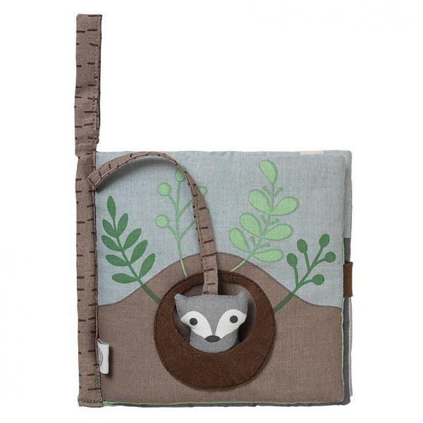 Missing mom - fox fabric book