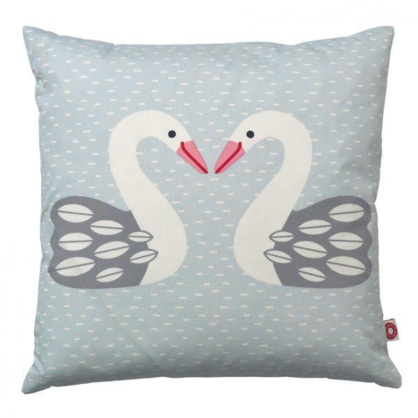 Almue light swan cushion