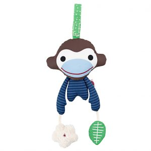 Asger blue monkey acivity toy