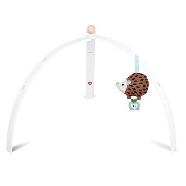 BabySpyder white baby gym