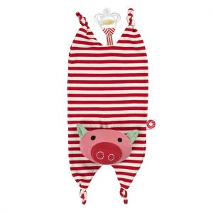 Biba Pig cuddle cloth