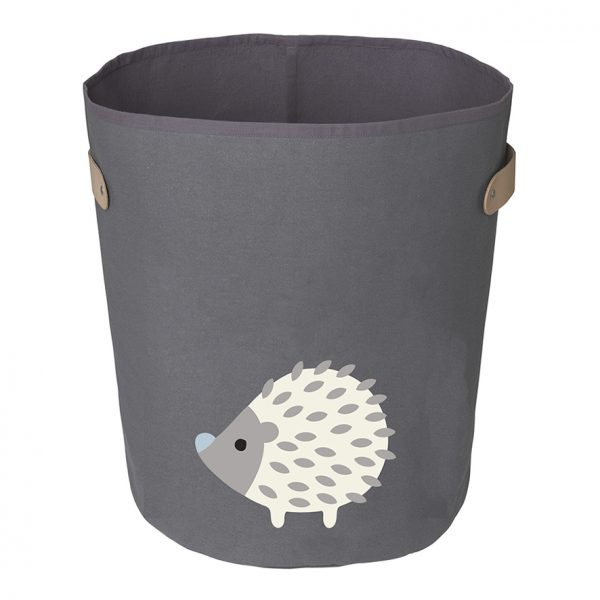 Boss dark hedgehog storage bin