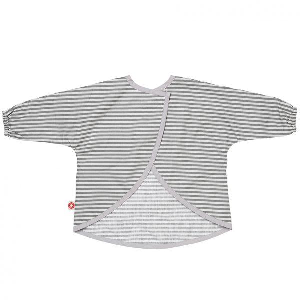 Dirt grey stripes apron
