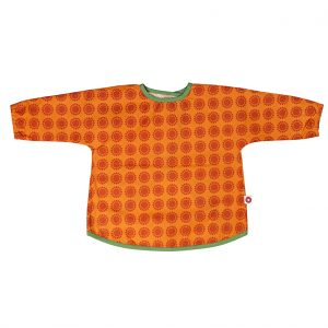 Dirt orange apron