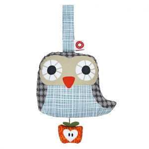 Else grey owl musical toy
