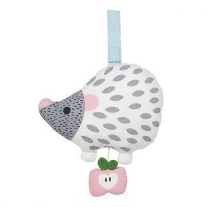 Else white hedgehog musical toy