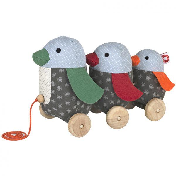 Georg penguin pull toy