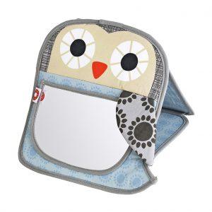 Grete grey owl mirror
