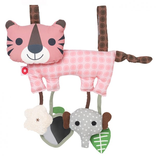 Hasse pink Tiger activity toy