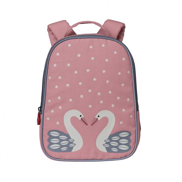 Herta pink swan backpack
