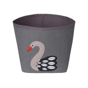 Ida dark swan storage bin