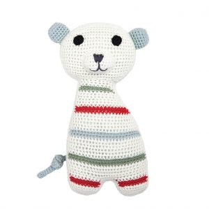 Isak polar bear cuddly toy