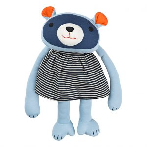 Kaya raccoon denim dress cuddly animal