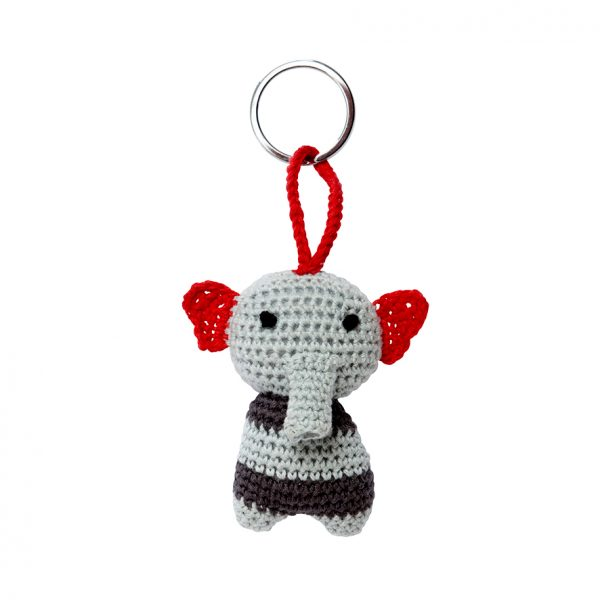 Key ring elephant