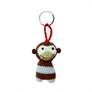 Key ring monkey