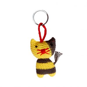 Key ring tiger