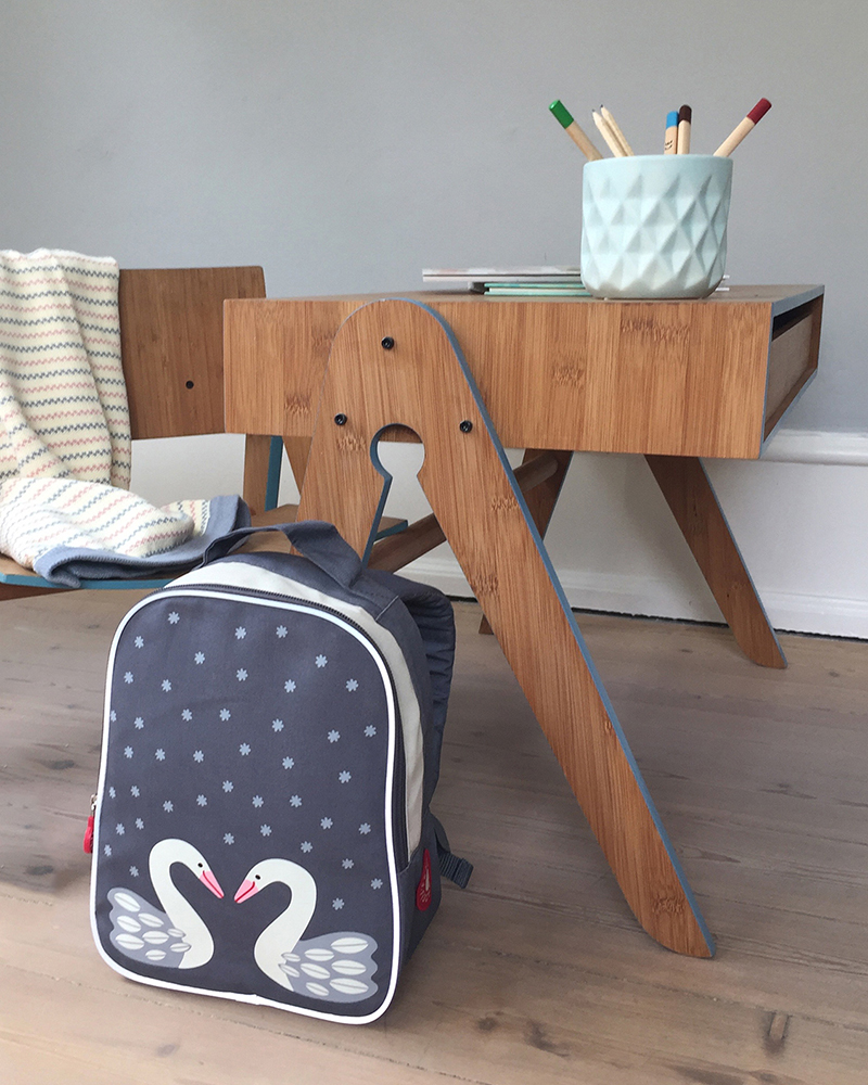 Herta grey swan backpack