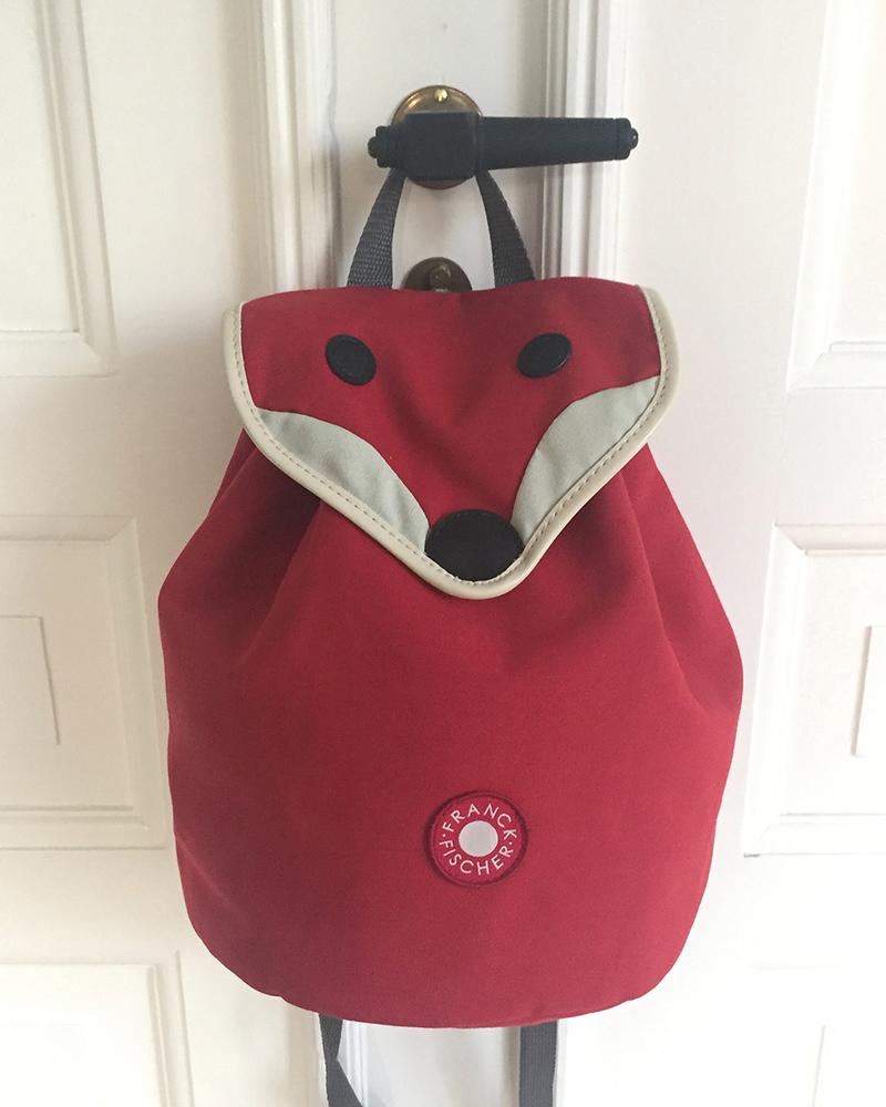 Hilda red fox backpack