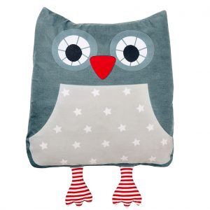 Marta owl sand cushion