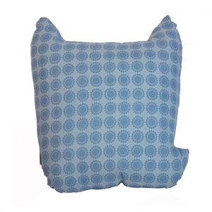 Rufus blue fox cushion