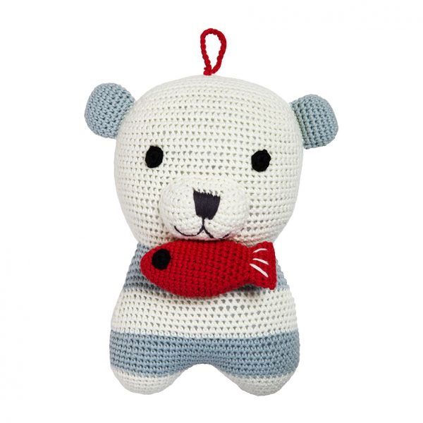 Smilla polar bear musical toy