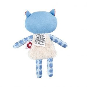 Trisse blue raccoon cuddle toy