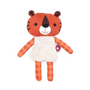 Trisse orange tiger cuddle toy