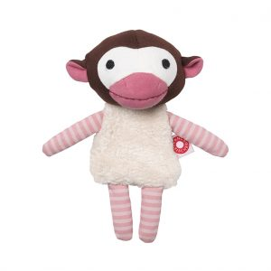 Trisse pink monkey cuddle toy