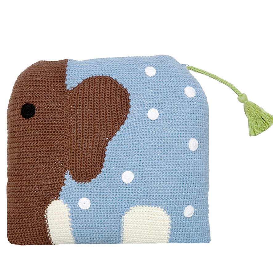 Latch Hook Kits Make Your Own Cushion Elephant Love Printed Canvas ... | 886x886