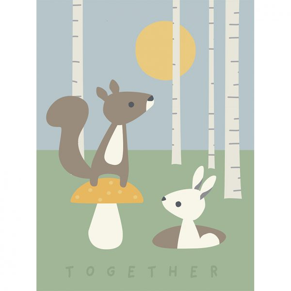 Poster Happy day / Together