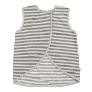 Cook grey stripe apron