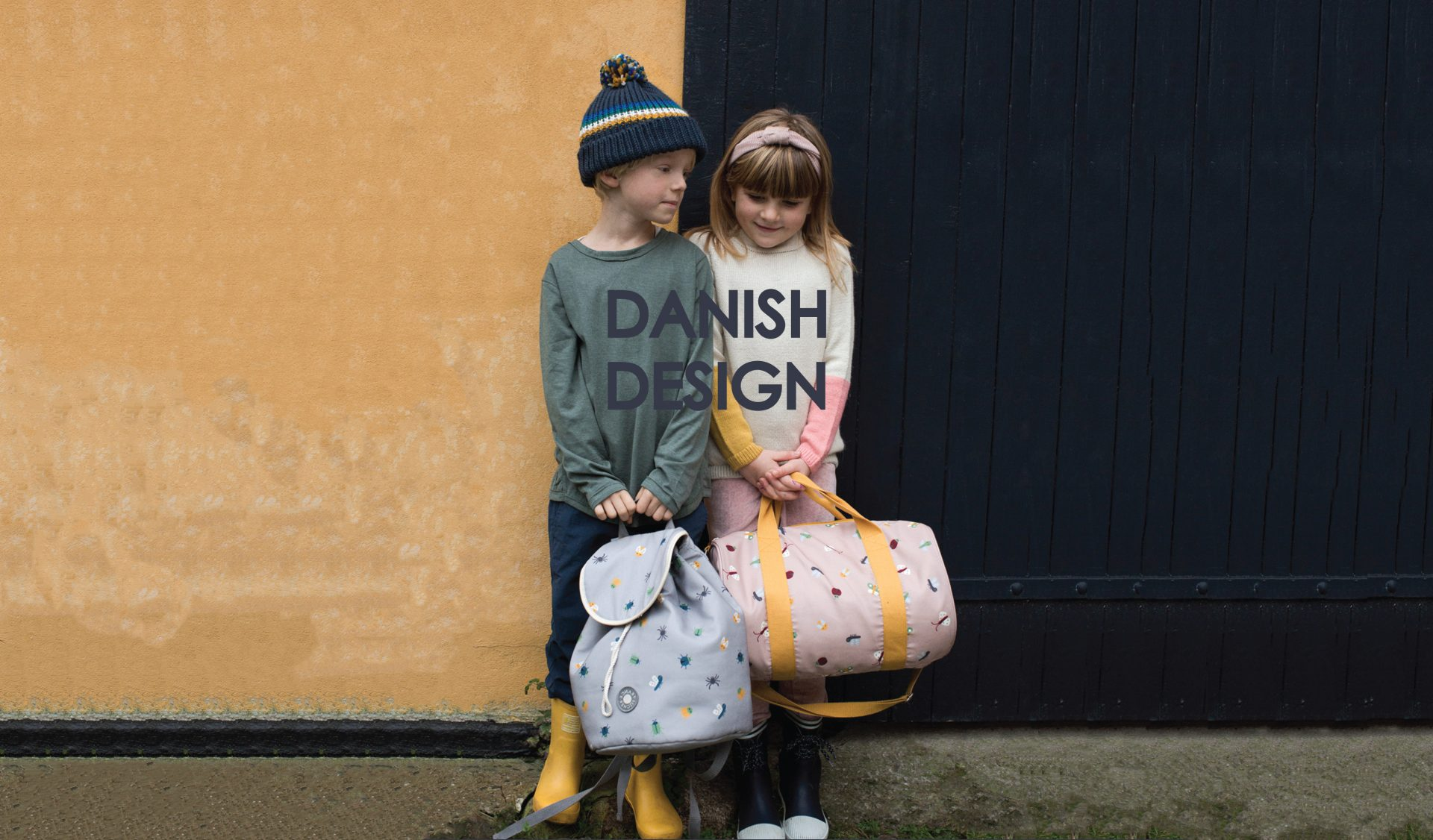 C2 DANISH DESIGN Børn med tasker